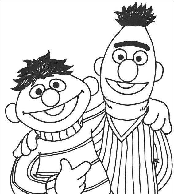 Ernie Und Bert Malvorlagen