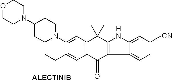 Med-Chemist: Alecensa (alectinib) approved for treatment