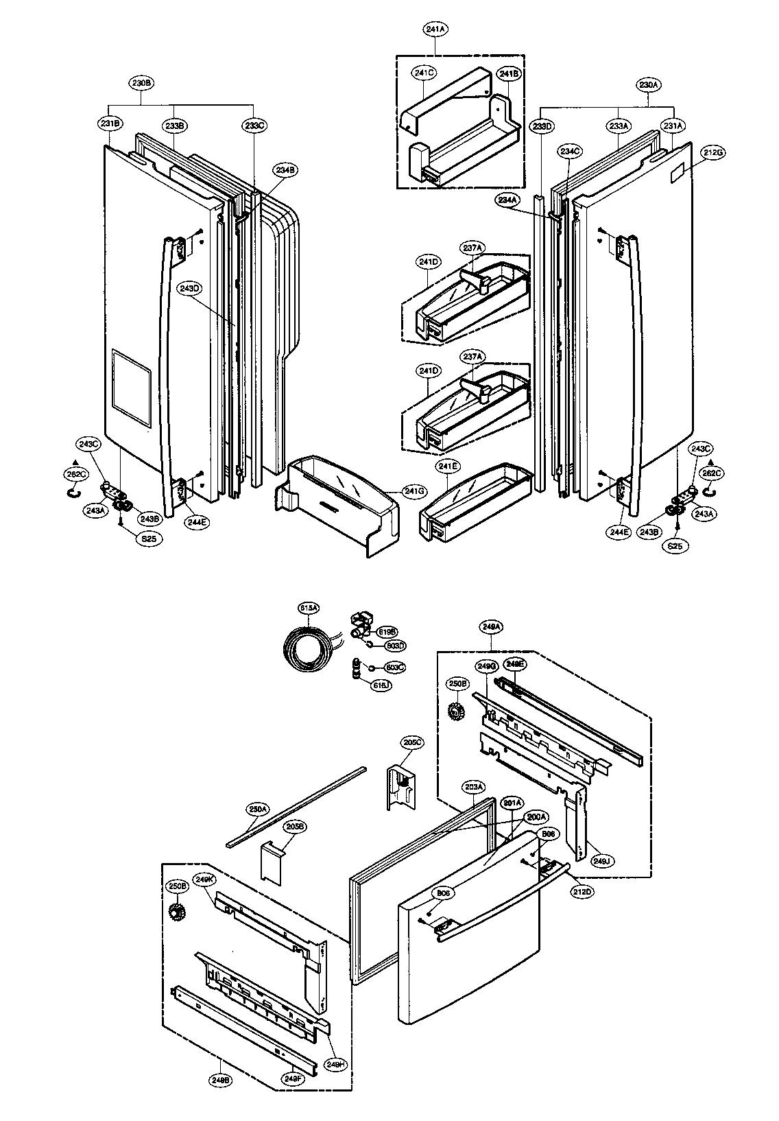Wiring Diagram: 28 Lg Lfx28978st Parts Diagram