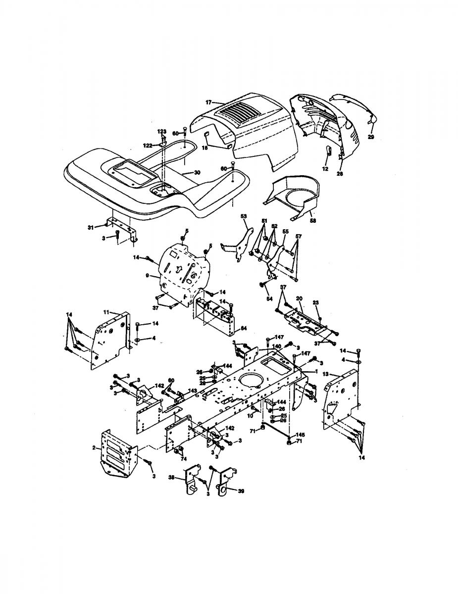 medium resolution of craftsman lt1000 mower deck parts diagram craftsman lt 2000 mower wiring diagram today