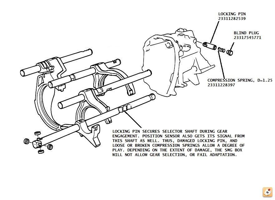 beelove: Bmw E46 M3 Smg Compression Springs