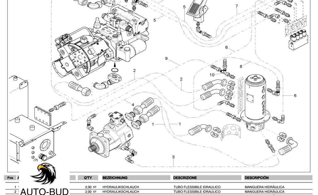 Free Auto Repair Manual : NEUSON 9503 Parts Catalog De It