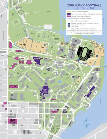 Uw Seattle Campus Map : seattle, campus, University, Washington, Parking, Location, Catalog, Online