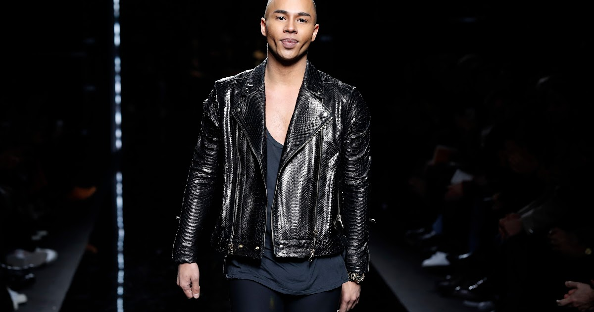 Olivier rousteing is filming a documentary. Olivier Rousteing Balmain / Balmain Designer Olivier ...
