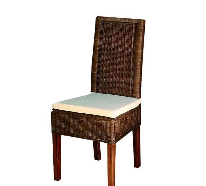Les Concepteurs Artistiques Coussin Chaise En Rotin