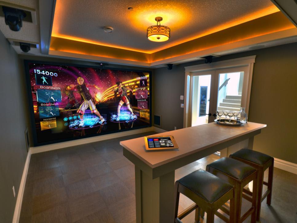media game room design ideas
