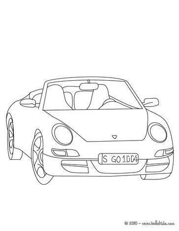 Celebrity Wardrobe Malfunction: coloring pages sports cars