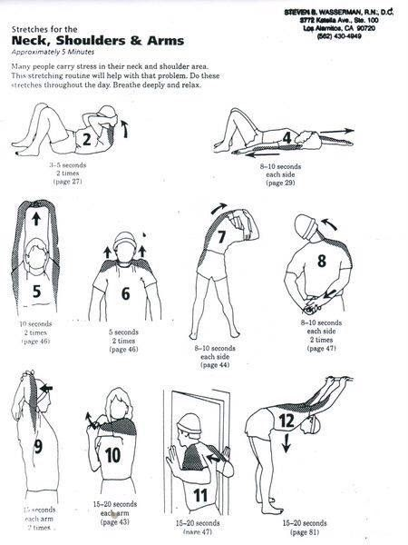 rasa yoga cafe...: Stretches for Neck, Shoulders n Arms.