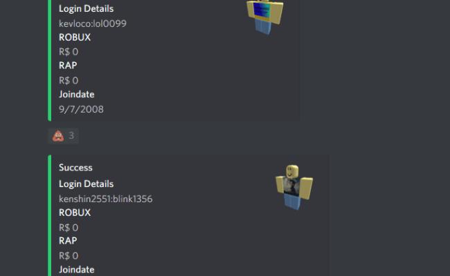 Roblox Account Dump