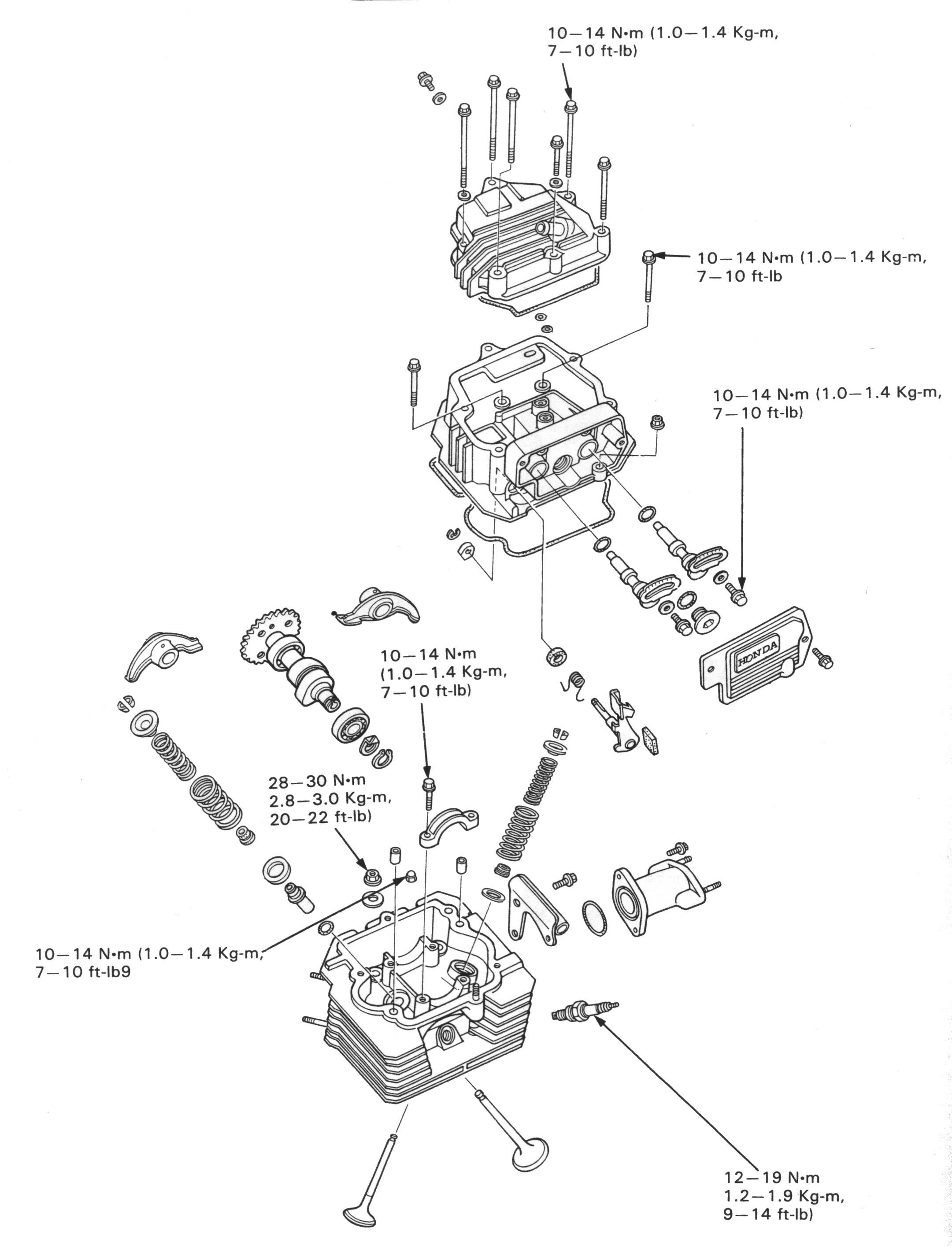 2004 Honda Shadow 750 Valve Adjustment Method