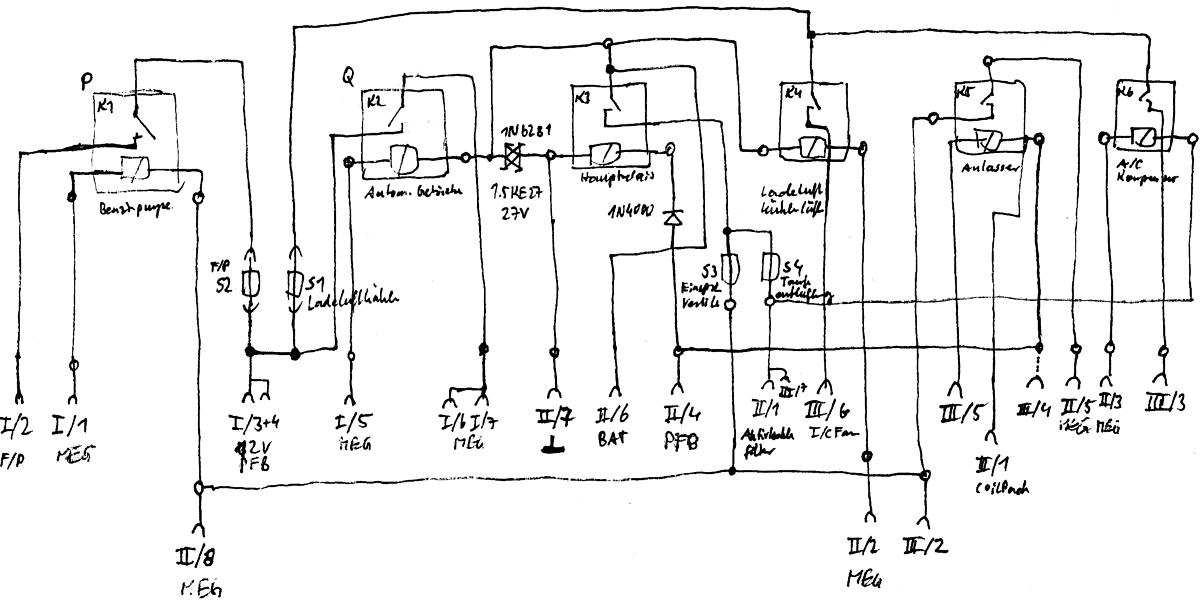 Smart 450 Relaisbox Schaltplan