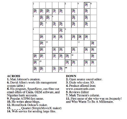 crossword puzzles answers: Create Crossword Puzzles Crossword