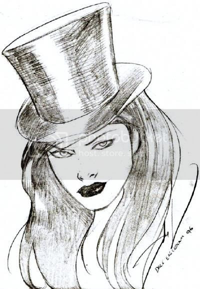 Justice League Detroit: Zatanna Gallery by Dale Eaglesham