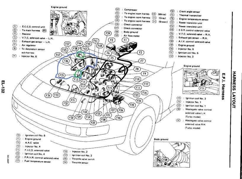 Ka24De Wiring Harness Diagram / Ka24de Distributor Wiring