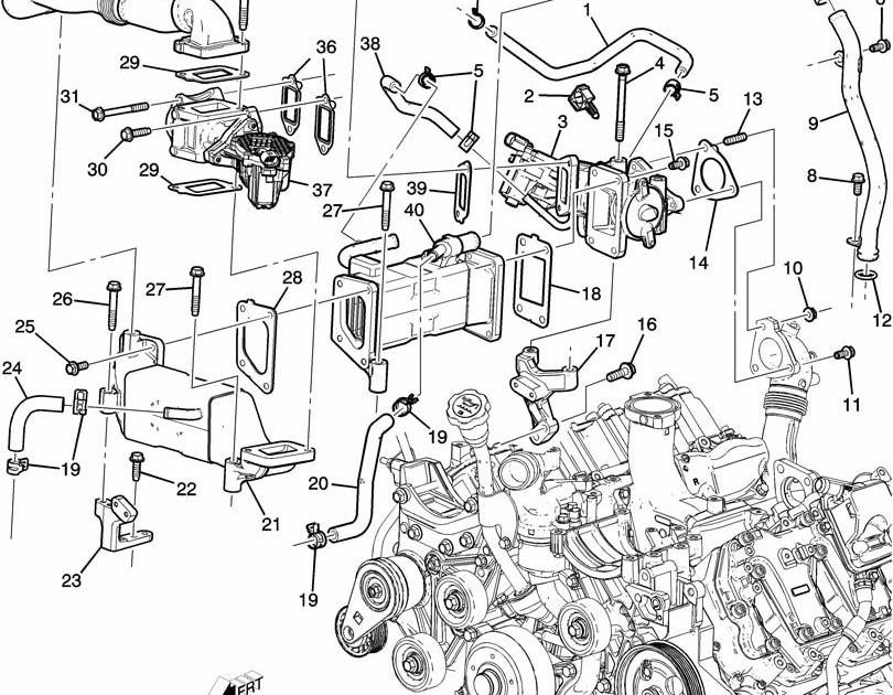 Chevrolet 2500 Diesel Engine Diagram