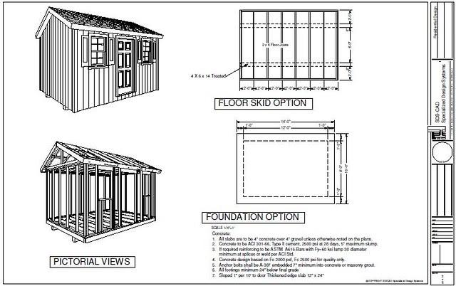 Tifany Blog: 8 x 14 storage shed plans