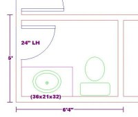 Free Bathroom Plan Design Ideas | Home Decorating ...