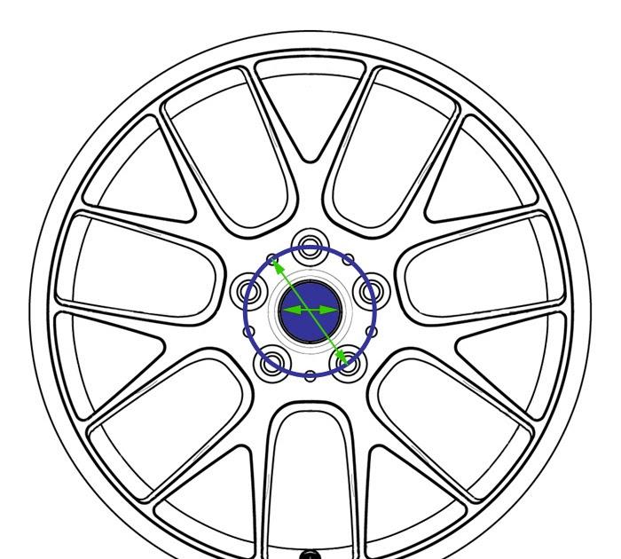 Youan: E36 M3 Wheel Center Bore