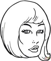 Malvorlagen Menschen Gesichter   Zeichnen und Färben