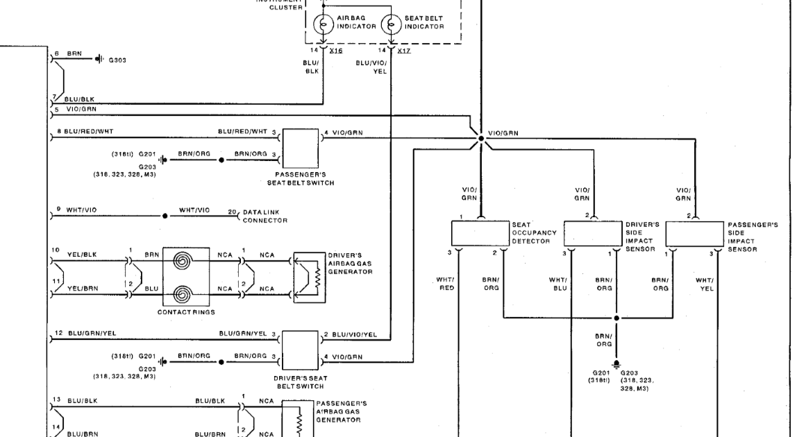 E46 Wiring Diagram : BMW 3 SERIES 1998 E46 CPT8000