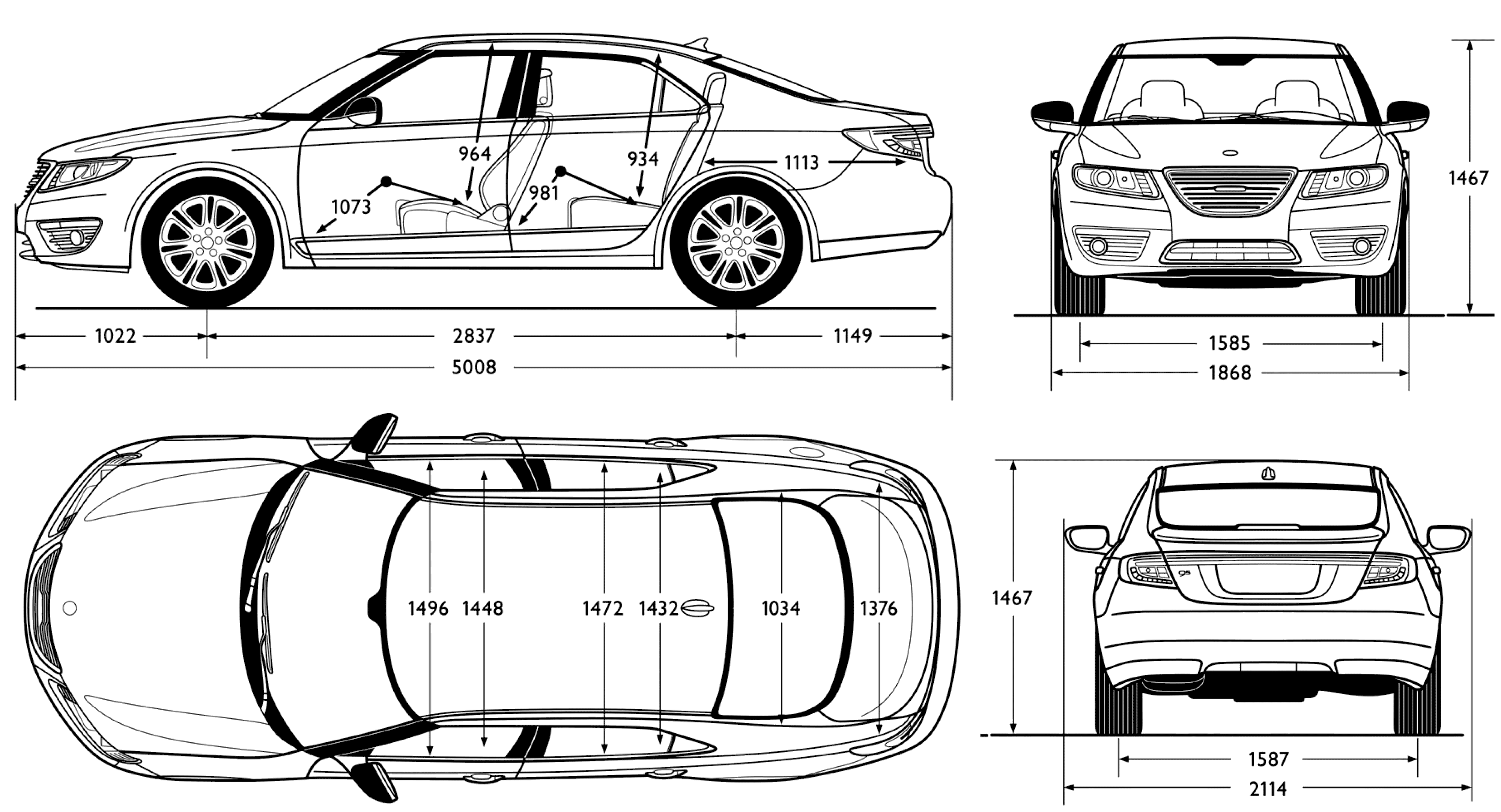 Audi A7 Sporback Kleurplaat