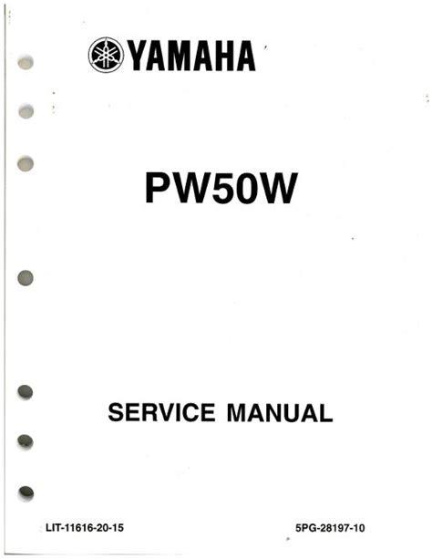 Download yamaha pw50 manual Internet Archive PDF