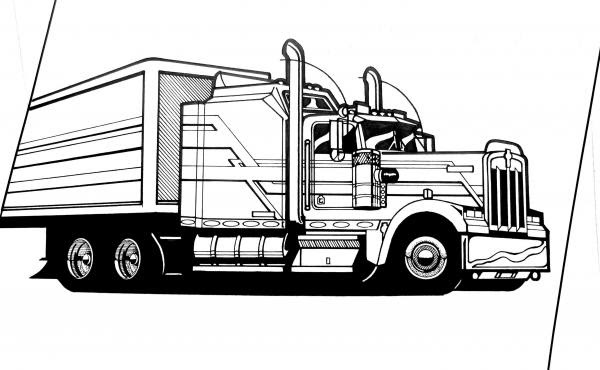 Mildred Patricia Baena: kenworth 18 wheelers