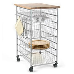 Wire Kitchen Cart Cabinet Knobs Cheap Dream House Design Platinum Elfa The Container Store