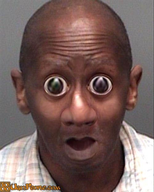 Funny Guy With Big Eyes : funny, Funny
