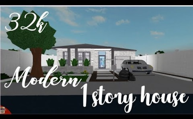 Bloxburg Modern House 1 Story 30k Photograph This was originally gonna be a mansion, but it didn't turn out the best so i. bloxburg modern house 1 story 30k