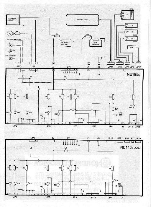 Fiat Ducato 250 Stromlaufplan