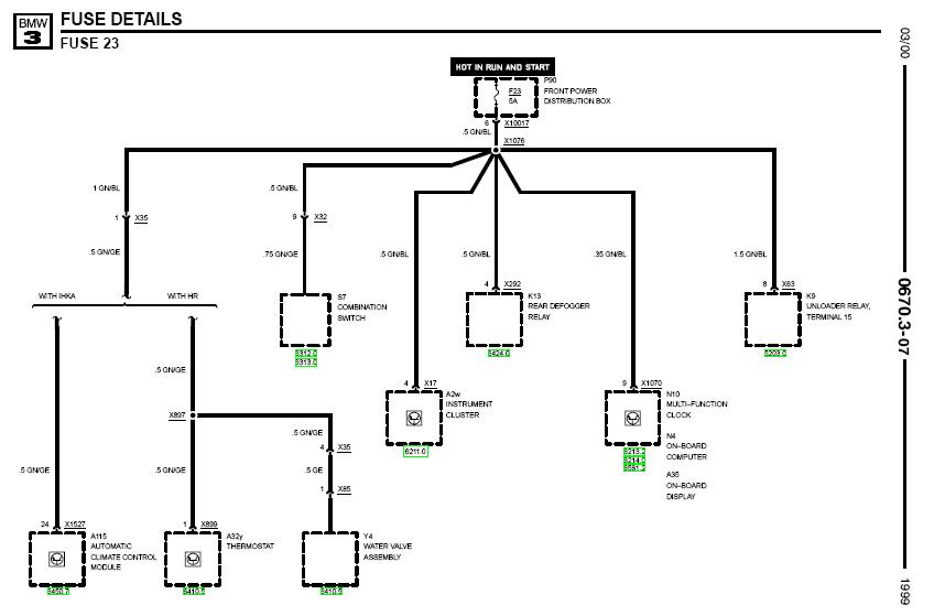 Wiring Diagram: 31 1999 Bmw 323i Parts Diagram