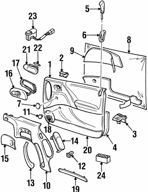 1997 Cadillac Catera Engine Diagram