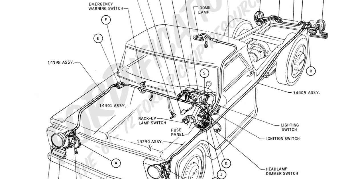 1994 Ford Ranger Brake Wiring Schematic