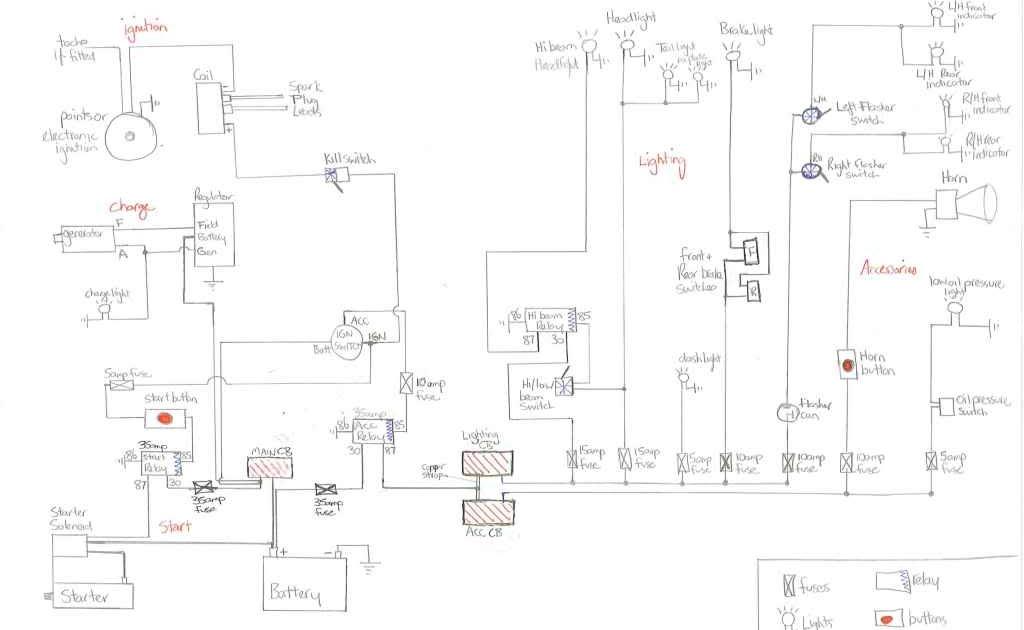Harley Davidson Snowmobile Wiring Diagram