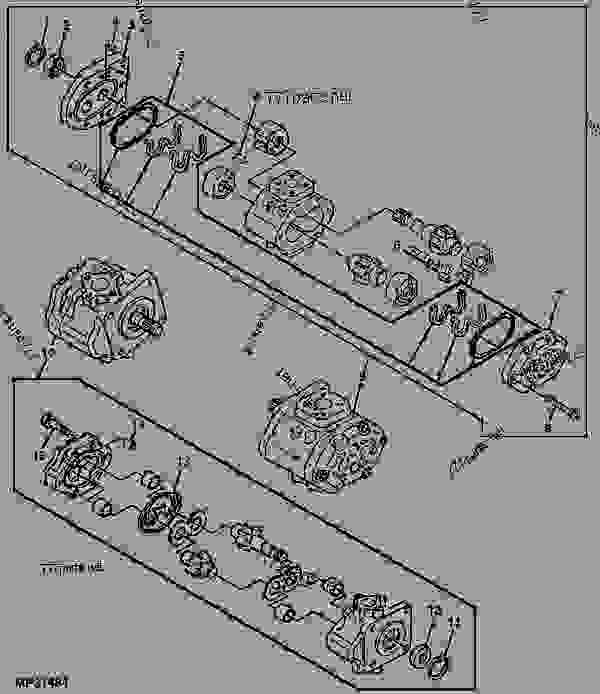 80 HYDRAULIC PUMP 970 CASE TRACTOR