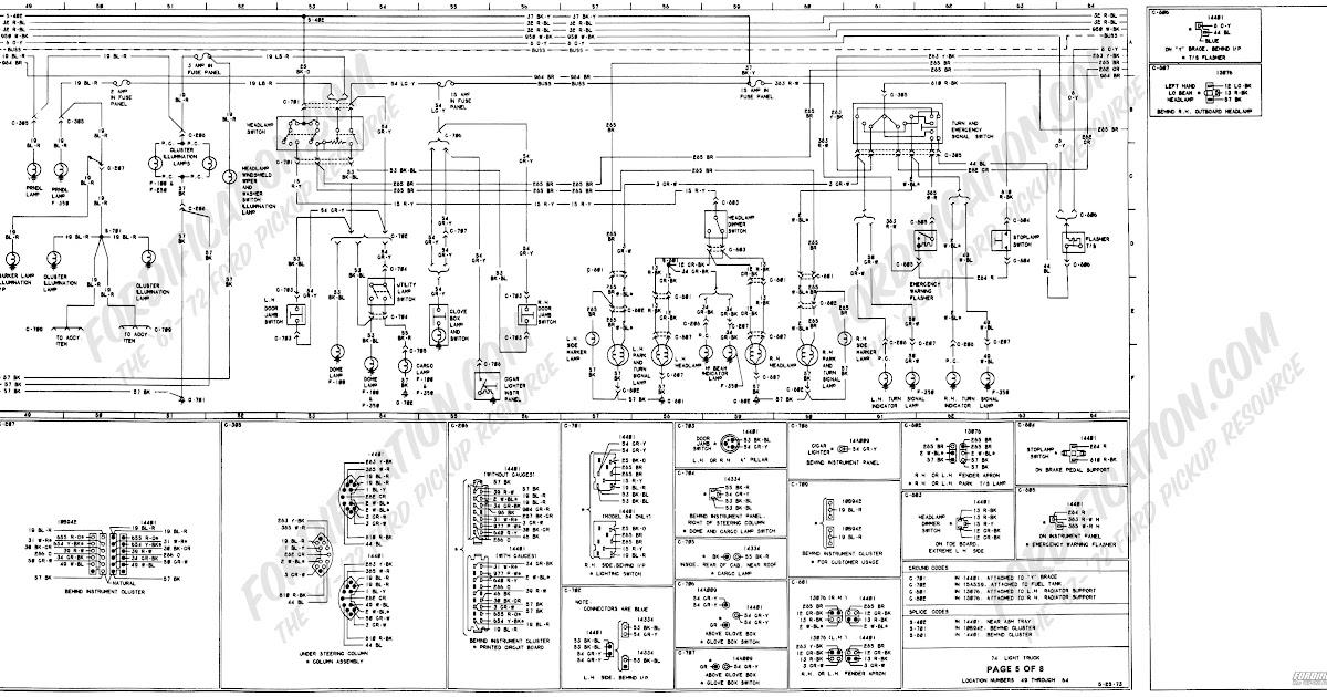 1994 Ford F150 Alternator Wiring Diagram / Convert 92 f150