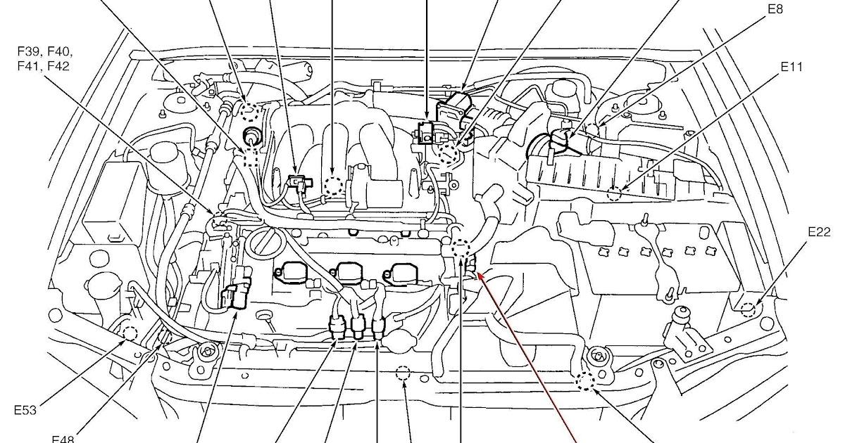 1997 Nissan Pathfinder Starter Relay Location / Car Horn