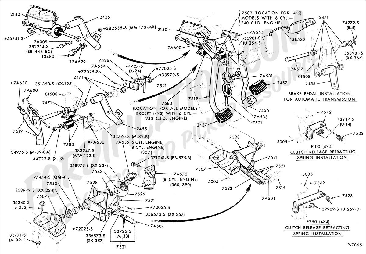 Wiring Diagram: 33 Ford F350 Parts Diagram