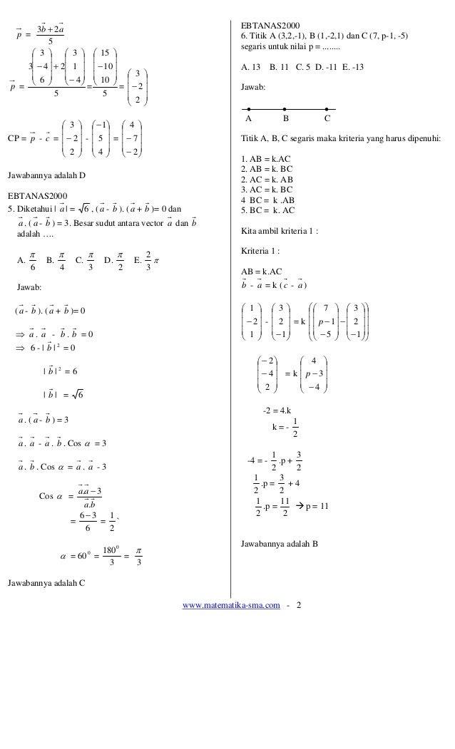 Contoh Soal Vektor Dan Pembahasannya : contoh, vektor, pembahasannya, Contoh, Vektor, Gurunda