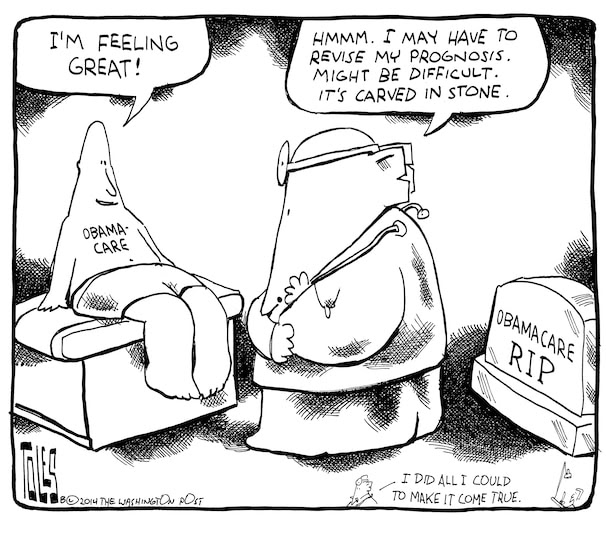 Pax on both houses: Tom Toles Cartoon: The GOP Diagnoses