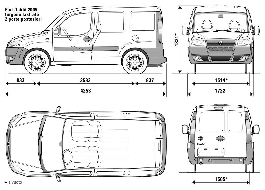 Automobile Club agenzia: Dimensioni doblo maxi