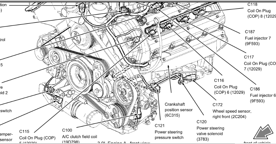 2001 Lincoln Ls 3 0 Wiring Diagram