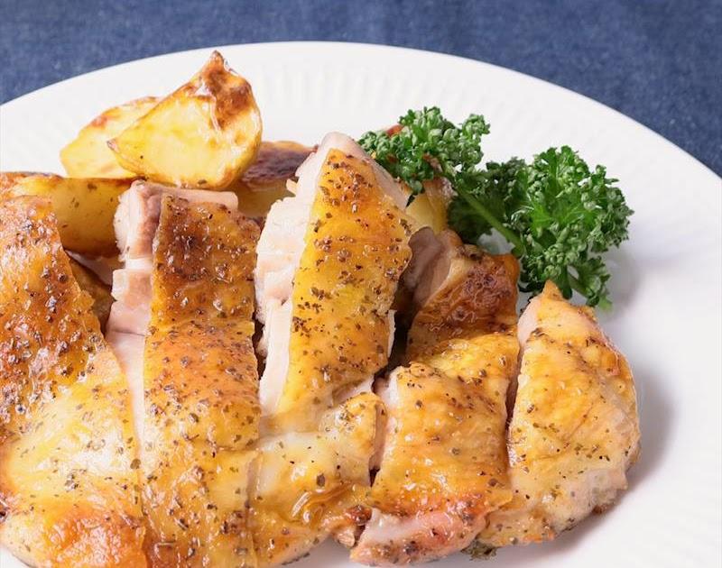 最高の、最も食べ物の寫真: オリジナル 鶏もも オーブン レシピ