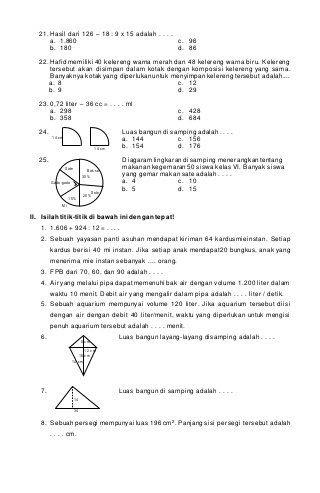 Tentukan kpk dari 4 dan 8. Soal Dan Jawaban Matematika Soal Ulangan Bab 4 Kelas 10