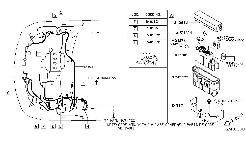 Wiring Diagram For 2009 Nissan Versa / 2014 Nissan Versa