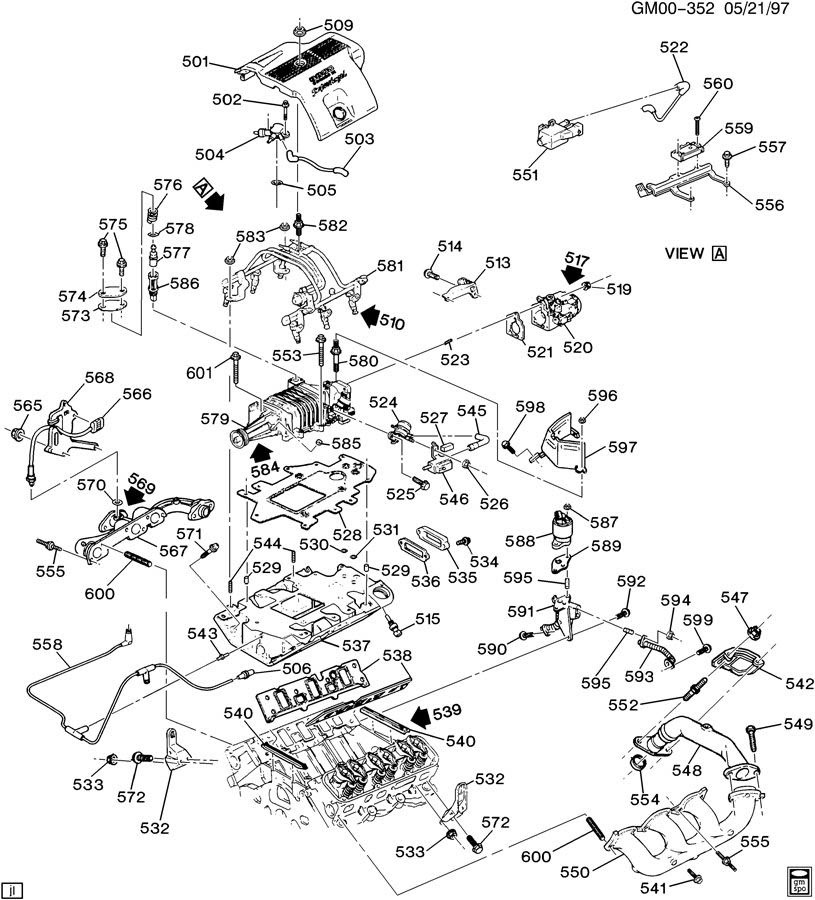 [DIAGRAM] Pontiac Grand Prix 01 Engine Diagram FULL