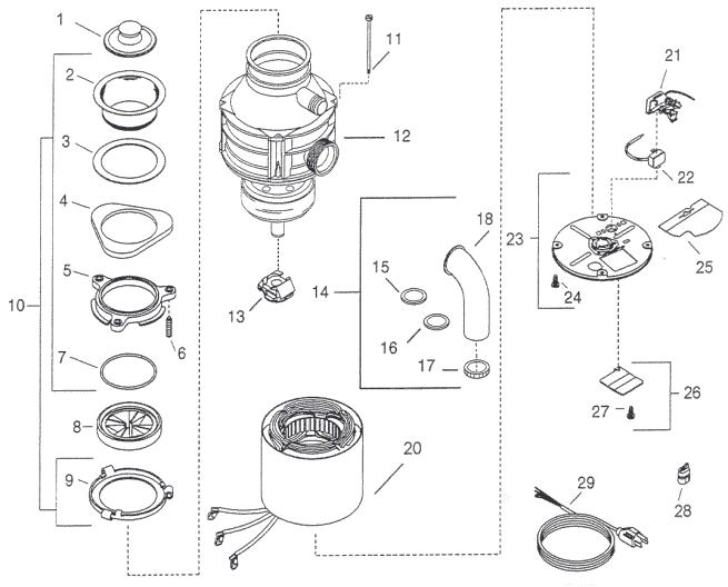 Water heater manual: Insinkerator model 581