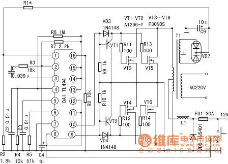 Soft Wiring: 80 Watt Amplifier Circuit Diagram