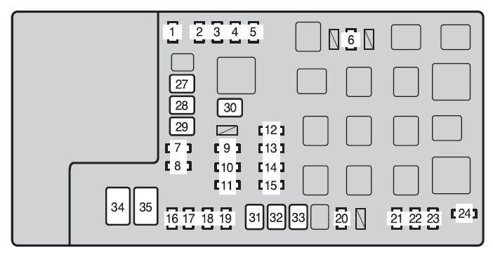 [DIAGRAM] Toyota Ta Fuse Box Diagram 2015 FULL Version HD